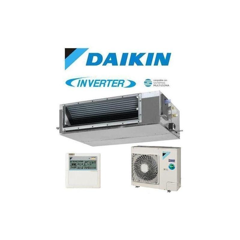Daikin adeqs71b8 conductos for Simbolos aire acondicionado daikin