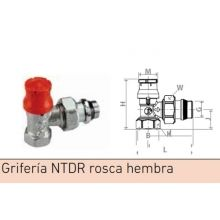 "Griferia Baxi NTDR 3/8"" rosca hembra"
