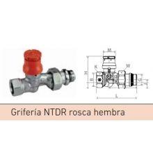 "Grifería Baxi NTDR 3/8"" rosca hembra escuadra"