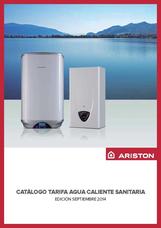 Catálogo-Tarifa ARISTON 2014