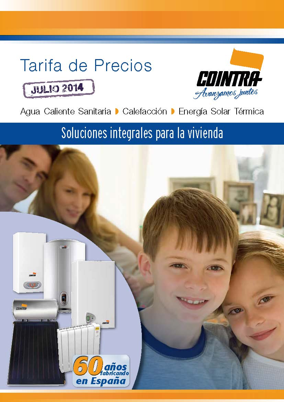 Tarifa COINTRA 2014