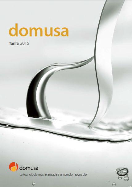 Tarifa DOMUSA 2015