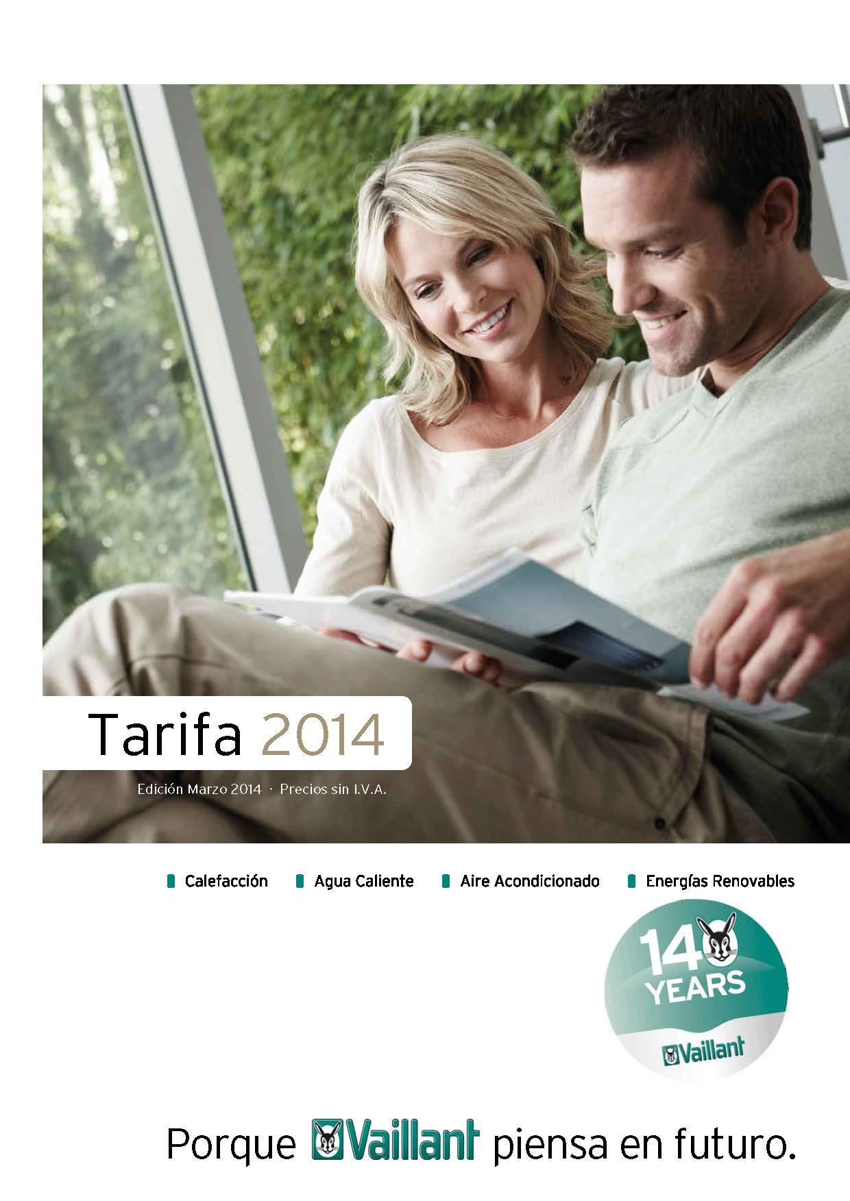 Tarifa VAILLANT 2014
