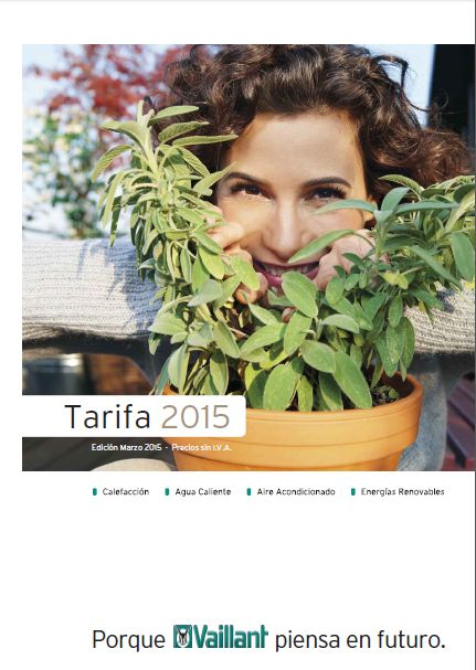 Tarifa VAILLANT 2015