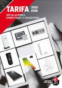 Catálogo-Tarifa ACV 2015