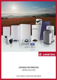 Catálogo-Tarifa Ariston 2015