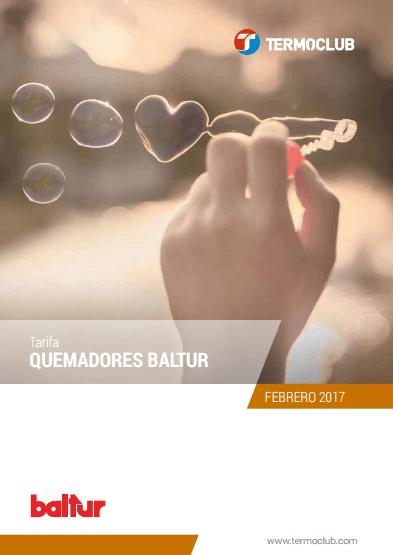 Catálogo-Tarifa Baltur 2017