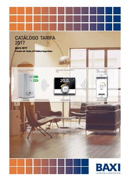 Catálogo-Tarifa BaxiRoca 2017