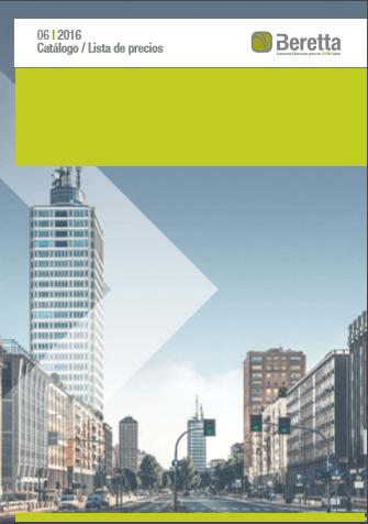 Catálogo tarifa beretta 2016