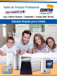Catálogo Tarifa Cointra 2016 Septiembre