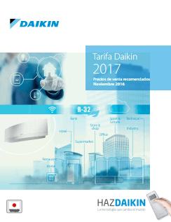 Catálogo-Tarifa Daikin 2017
