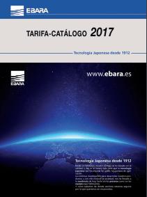 Catálogo-Tarifa Ebara 2017
