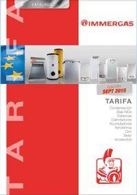 Catálogo-Tarifa Immergas 2015