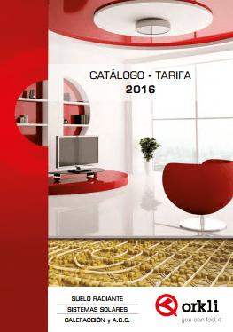 Catálogo Tarifa Orkli 2016