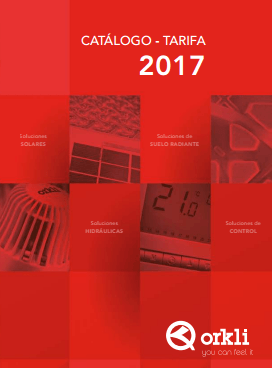 Catálogo-Tarifa Orkli 2017