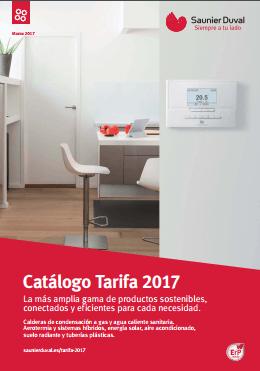 Catálogo-Tarifa Saunier Duval 2017