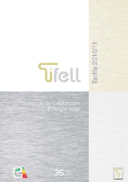 Catálogo-Tarifa Tifell 2017
