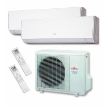 Aire Acondicionado Fujitsu 2x1 ASY2520u11mi-lm inverter