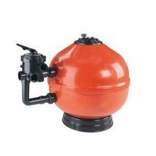 Filtro de piscina soplado D-500 con válvula lateral.