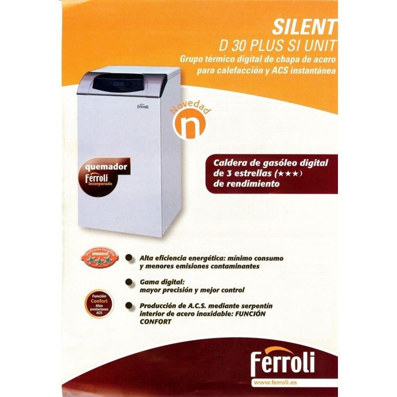 Caldera de gasoil ferroli silent d 30 plus si unit - Caldera gasoil precio ...